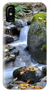Whisketown Stream In Autumn IPhone Case