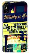 Whisky A Go Go Bar On Sunset Boulevard IPhone Case