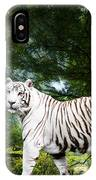 White Bengal IPhone X Case
