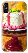 White Cake IPhone Case