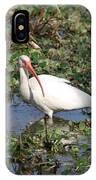 White Crane IPhone Case