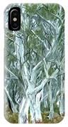 White Gum Forest IPhone Case