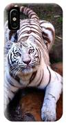 White Tiger 2 IPhone Case