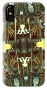 White Tiger Carousel 2 IPhone Case