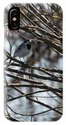 White Wagtail IPhone Case