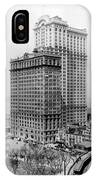 Whitehall Buildings At Battery Place Station In New York City - 1911 IPhone Case