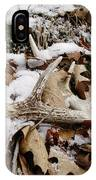Whitetail Deer Antler  - Half Of 10 IPhone Case