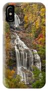 Whitewater Falls 1 IPhone Case