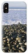 Whitewater From Crashing Waves Washes IPhone Case