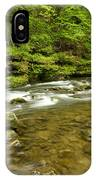 Whitewater River Spring 8 C IPhone Case