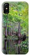 Wild Florida - Hillsborough River IPhone Case