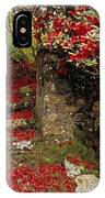 Wild Garden, Rowallane Garden, Co Down IPhone Case