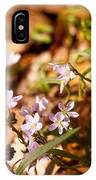 Wild Hyacinth IPhone Case