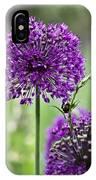 Wild Onion Flower IPhone Case