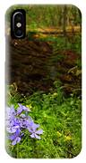 Wild Phlox In The Woodlands IPhone Case