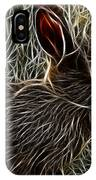 Wild Rabbit IPhone Case