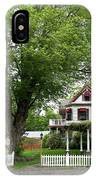 Wild Rose Inn Woodstock IPhone Case