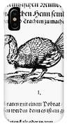 Wild Turkey, 1604 IPhone Case