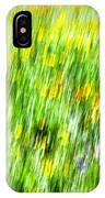 Wildflowers And Wind IPhone Case