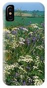 Wildflowers, Near Seaforde, Co Down IPhone Case
