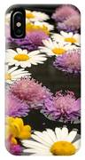 Wildflowers On Water IPhone Case