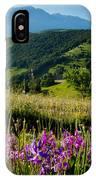 Wildflowers Umbria IPhone Case