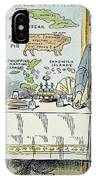 William Mckinley Cartoon IPhone Case