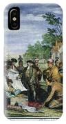 William Penns Treaty, 1682 IPhone Case
