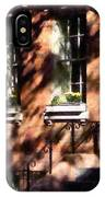 Window Boxes Greenwich Village IPhone Case
