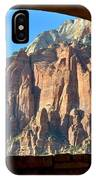 Window Into Zion IPhone Case