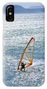 Windsurfer, Baja, Mexico IPhone Case