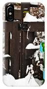 Winter Butterflies IPhone Case