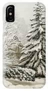Winter Fairytale IPhone Case