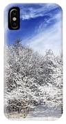 Winter Forest Covered With Snow IPhone Case by Elena Elisseeva