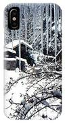 Winter In The Henhouse IPhone Case