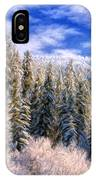 Winter In The Rockies IPhone Case