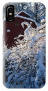 Winter Look IPhone Case