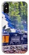 Winter Train IPhone Case