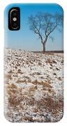 Winter Tree Nachusa Grasslands IPhone Case