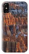 Winter View Of Bryce Canyon National IPhone Case