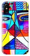 Wisdom Fractal Goddesses IPhone Case