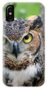 Wise Old Owl IPhone Case