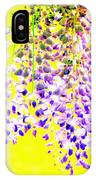 Wisteria Abstract IPhone Case