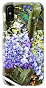 Wisteria And Wagon Wheel IPhone Case