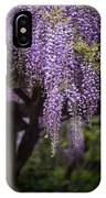 Wisteria Droplets IPhone Case