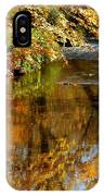 Wolcott River Reflections IPhone Case