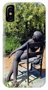 Woman On A Chair IPhone Case