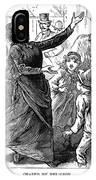 Woman Preaching, 1888 IPhone Case