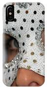 Woman With Mask IPhone Case