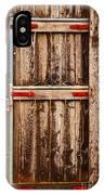 Wood Fence Door IPhone Case
